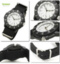~ 10 / 31 Tracer military TYPE6 White Watch men's Japan limited model P6500.400.53.07 02P04oct13