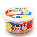 BorneLund (ボーネルンド) four colors of かんてん ネンド studio set white / red / yellow / blue (agar clay).