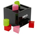 Brio /BRIO post box-shaped building blocks Align box 1 year old: 1-year-old man: woman