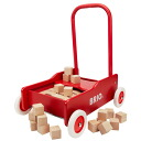 Brio /BRIO Walker with blocks 50 pieces with BARROW 1-year-old: man