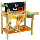 Wooden Toy エトボイラ make-believe play Workbench 3 years: 3-year-old man: woman