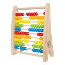 Hape ハペ company 100 coin abacus rainbow beads abacus 3 years old
