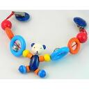 Heimess high female baby accessories stroller chain ring bear