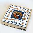 Booklet with blocks and blocks KAPLA coupler 1002 age: 2-year-old man: woman
