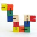 Wooden toys HANDELSHAUS ハンデルシャウス Pocket cube