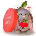 Stuffed Apple Park plush toy rabbit