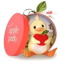 Stuffed Apple Park plush toy duck