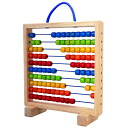 Abacus (100 ball abacuses) that Plantoys cognitive education toy is fun