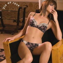 SieLEI rose モルドカップブラ-Brazilian Tango set black and rose