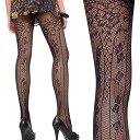 DONNA BC CHAMONIX NET tights black