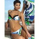 Italy import: LILLY LF35 push up swimwear bikini blue pink 10P01Feb14