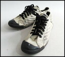 ■ diesel black gold DIESEL BLACKGOLD ■ canvas sneaker ■ White x black ■ 1210P10Dec13_m