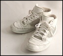 ■DOLCE&GABBANA Dolce & Gabbana ■ mesh higher frequency elimination sneakers ■ white ■ 8