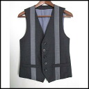 ■WIZZARD (Wizard )■ line gilet ■ gray ■ 1)■