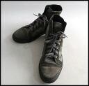 ■ TRUSSARDI 1911 Trussardi 1911 ■ camouflage pattern high cut sneaker ■ gray x dark Olive ■ 40 1 / 2