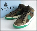 ■LANVIN orchid van ■ higher frequency elimination sneakers ■ brown ■ 6■