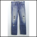 ■R.H. VINTAGE( Ron Herman vintage) ■ repair denim underwear ■ wash blue ■ 33■