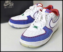 ■ NIKE (Nike) ■ AIR FORCE 1 LOW CMFT PRM/579941 ■ White x blue x red ■ 12 (30 cm) ■
