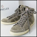 ■MONCLER( Monk rail) ■ higher frequency elimination sneakers ■ khaki ■ 42 (approximately around 27cm)■