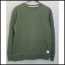 ■SATURDAYS SURF NYC( Saturday surf New York) ■ crew neck sweat shirt ■ khaki ■ L ■ 10P05Apr14M