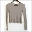 ■ JOHN SMEDLEY (Smedley) ■ wool V neck knit ■ beige ■ S ■