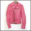 ■FranCisT_MOR.K.S. (フランシストモークス) ■ leather riders ■ pink ■ 1■