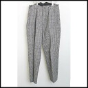 ■Yohji Yamamoto POUR HOMME( ヨウジヤマモトプールオム) ■ checked pattern tweed underwear ■ gray ■ 3■
