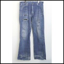 ■N.HOLLYWOOD( N Hollywood) ■× Lee repair processing painter denim underwear ■ indigo ■ S■