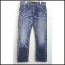 ■ junhashimoto (junhashimoto) ■ 11 SS VINTAGE processing denim pants blue ■ ■ 4 ■