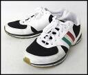 ■DOLCE&GABBANA (Dolce & Gabbana) ■ Italy line sneakers ■ white X black ■ 8.5■