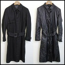 ■ DiorHOMME (Dior Homme) ■ 11 AW reversible to trench coat ■ black ■ 44 ■