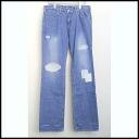 ■ R.H.VINTAGE(Ron Herman vintage) ■ 11 AW repair patchwork denim pants blue ■ ■ 32 ■