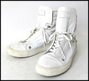 ■RAF SIMONS( rough Simmons) ■ higher frequency elimination sneakers ■ white ■ 43■