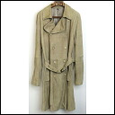■GIORGIO ARMANI (Giorgio armani) ■ 09SS goat leather trench coat ■ beige ■ 48■