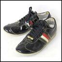 ■6 DOLCE&GABBANA (Dolce & Gabbana) ■ Italy line patent sneakers ■ black ■ ■ 10P20Sep14
