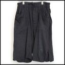 ■DRKSHDW (dark shadow) ■ damage processing cotton jersey easy panties ■ black ■ XS■
