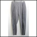■DiorHOMME( ディオールオム) ■ 08SS pleats wide underwear ■ gray ■ 48■