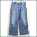 ■ N.HOOLYWOOD (enuhollywood) ■ 11 SS denim trouser pants ■ ice blue ■ 36 ■