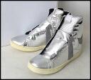 ■ KAZUYUKI KUMAGAI (kazyukikmagai) ■ 13 AW side dip high cut sneakers ■ silver ■ 44 ■