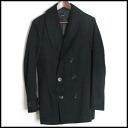 ■ AKM ECE am ■ shawl collar short trench coat ■ black ■ LP27Mar15