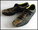 BOTTEGA VENETA Bottega Veneta ■ leather sneakers ■ black x Brown x yellow ■ 26P25Apr15