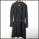 ■ Martin Margiela10 (Martin Margiela) trench coat black 50 ■ a