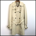 ■ master mind (master India) lining silk damage processing trench coat beige XS ■ d