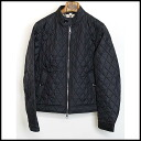 ■ BURBERRY BRIT (Barbary Britt) 14 AW quilting Ray Sanders JKT black XS ■ a10P01Mar15