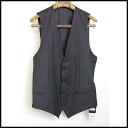 ■ &GABBANA DOLCE (Dolce & Gabbana) 11 AW stripe pattern urge re charcoal grey x light grey 44 ■ s