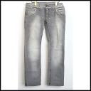 ■ &GABBANA DOLCE (Dolce & Gabbana) 08SS/Steve McQueen model denim pants gray 44 ■ b