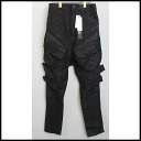 ■ JULIUS (Julius) 15 SS coating processing gas mask pants black 1 ■ s
