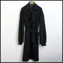 ■ DRESSEDUNDRESSED (ドレスドアンドレスド) 14 AW well oversized trench coat Black 2 ■ b