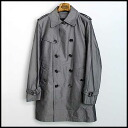 ■ with the BURBERRY BLACK LABEL (Burberry) liner coat grey M ■ a