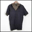 ■ kolor (color) 13 SS Indian skipper Polo Shirt Navy 2 ■ b